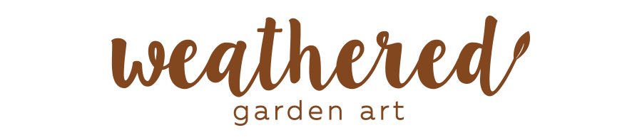 Weathered Garden Art Home