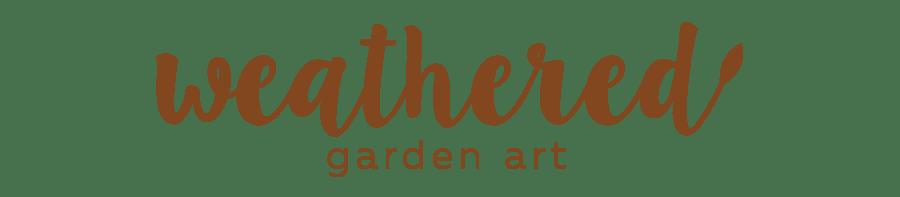 Weathered Garden Art Home