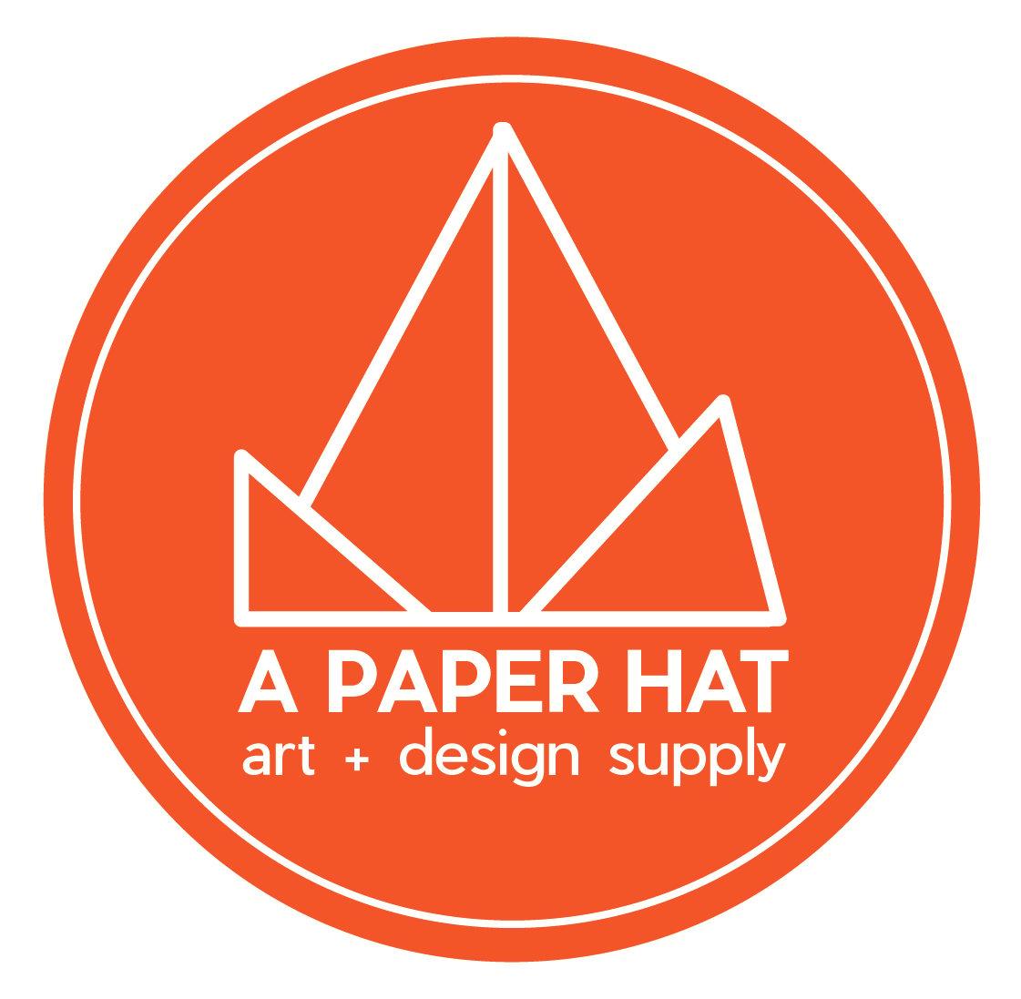 a paper hat