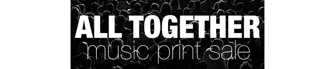 ALL TOGETHER Print Sale Home