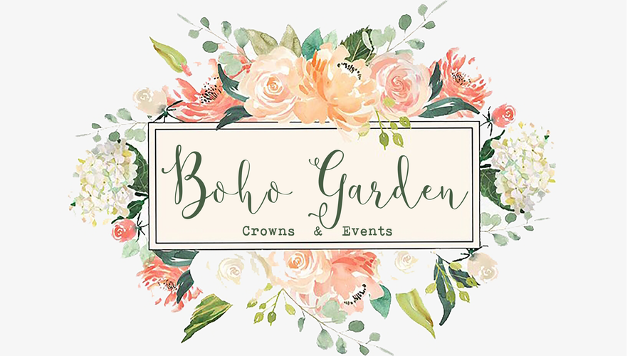 Boho Garden Crowns & Events Home