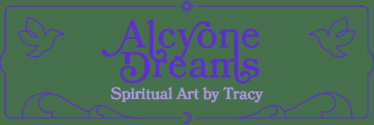 Alcyone Dreams Spiritual Artwork by Tracy Home