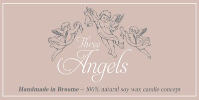 Three Angels Broome - Western Australia - 100% Natural Soy Wax Candle Concept Home