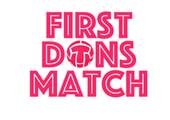 First Dons Match