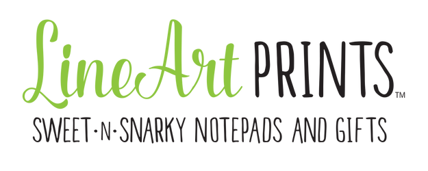 LineArtPrints - Stationery, Notepads and Gifts Home