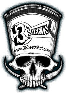 3 SHEETS ART Home