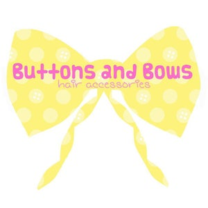 Buttons and Bows Hair Accessories Home
