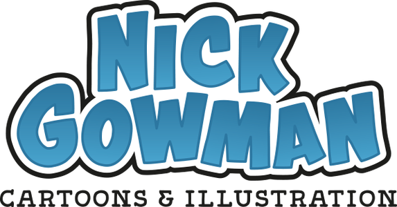 Nick Gowman Cartoon Shop Home
