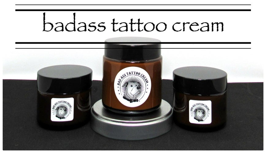 badass tattoo cream© official website | all-natural multipurpose cream