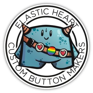 Elastic Heart Buttons Home