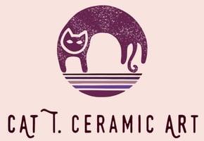 Cat T. Ceramic Art Home