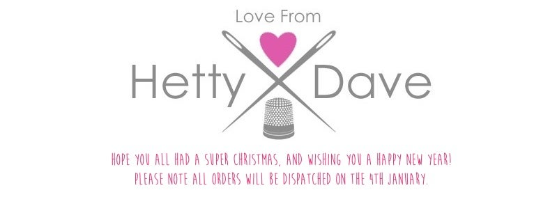 Love From Hetty & Dave