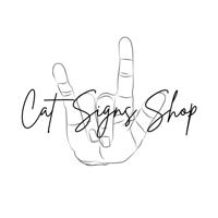 Cat Signs Shop