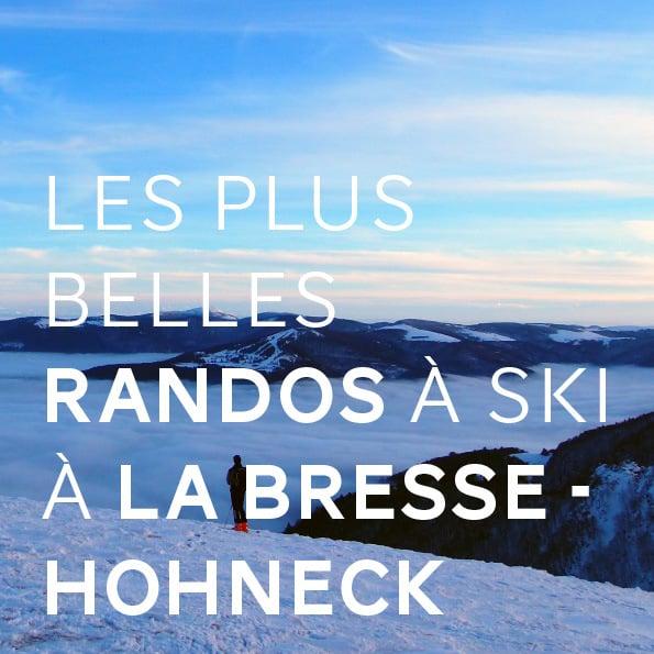 Les plus belles randos à ski à La Bresse - Hohneck