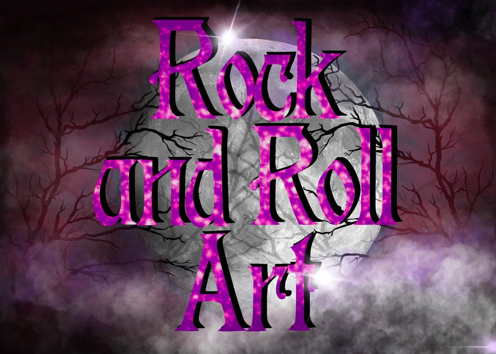 Rock And Roll Art Home