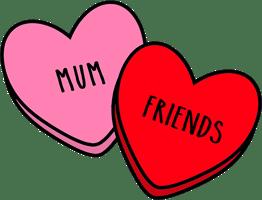 Mum Friends Home