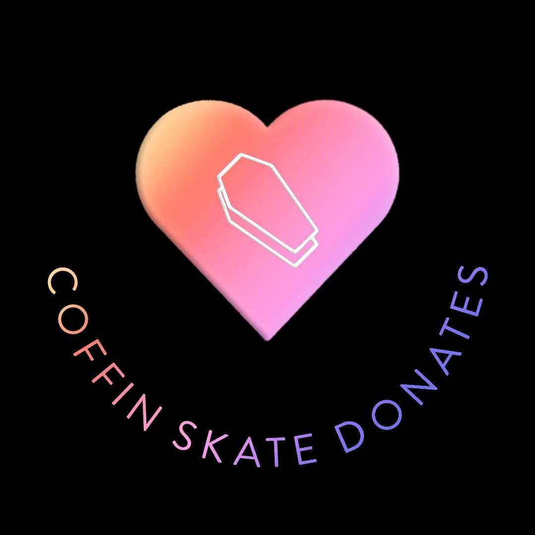 Coffin Skate Donates
