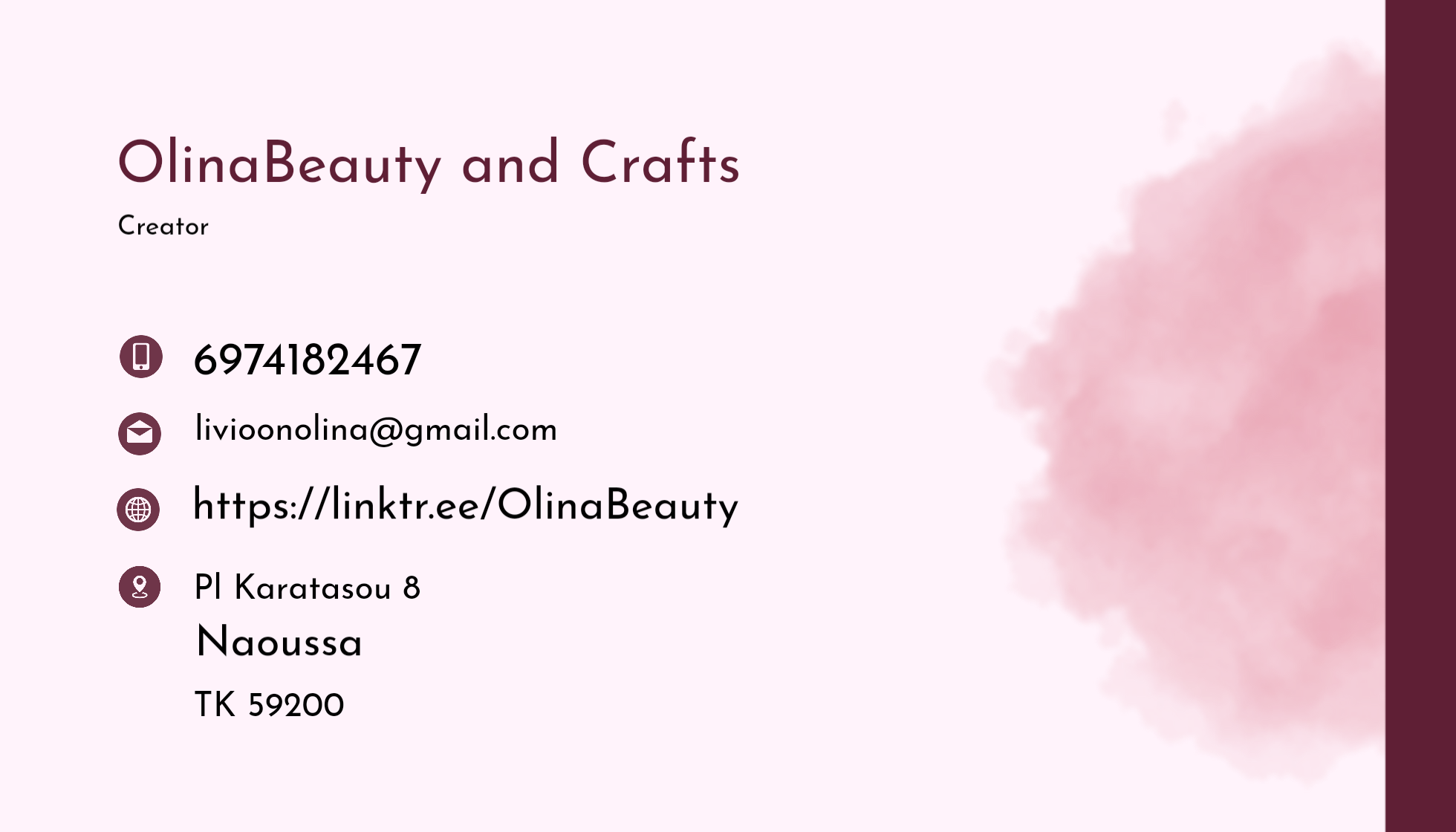 OlinaBeauty and Crafts