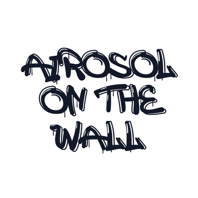 AIROSOL ON THE WALL
