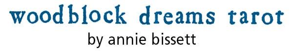 Woodblock Dreams Tarot by Annie Bissett Home