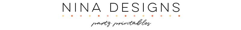Nina Designs - Party Printables Home