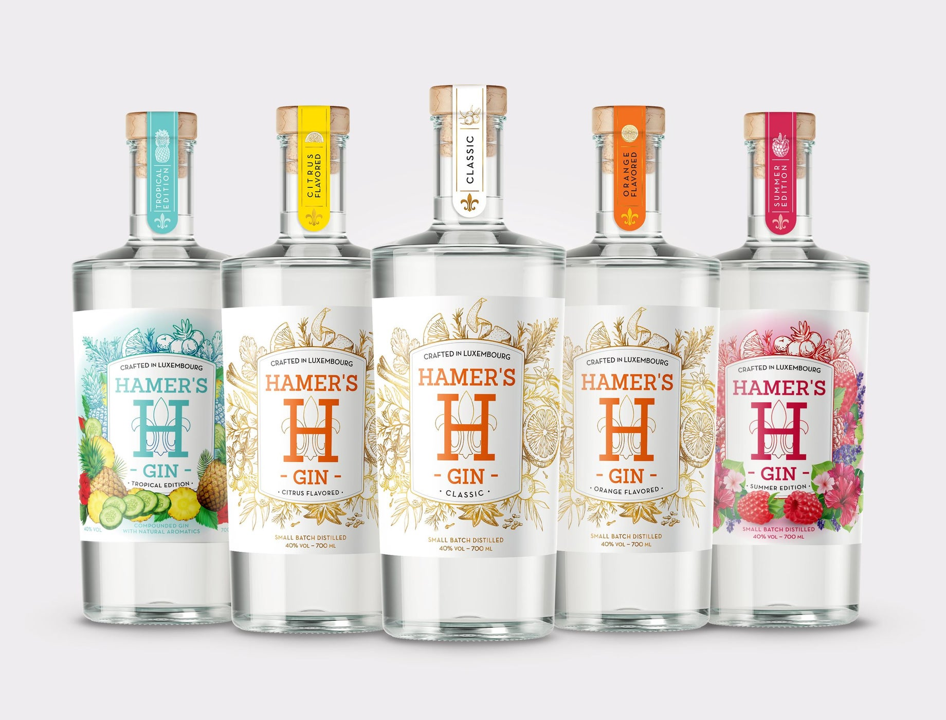 Welcome to Hamer's Gin - Made in Luxembourg -