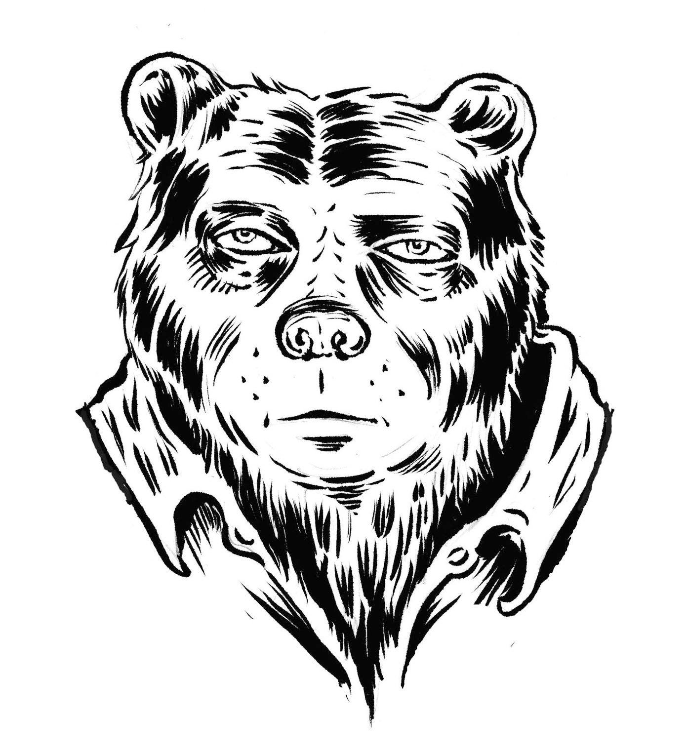 Hungover Bear
