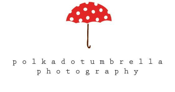 Polka Dot Umbrella Photography