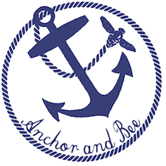 Anchor and Bee